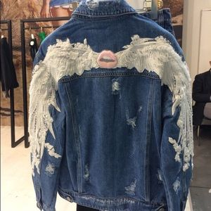 Miss sixty Jean jacket  —Angel - limited edition